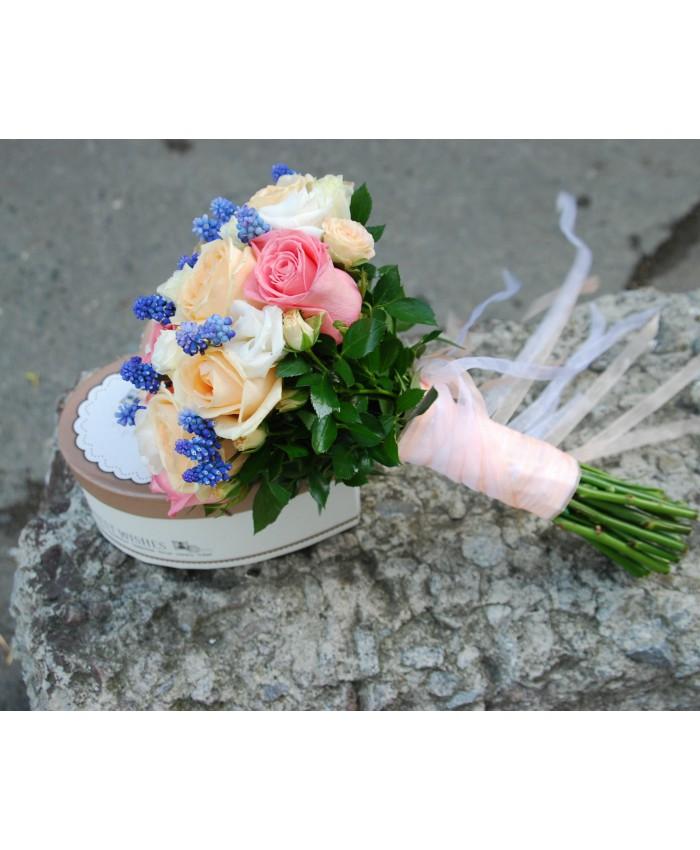 Простой букет невесты из роз, букет для козерог женщина на сегодня 2018