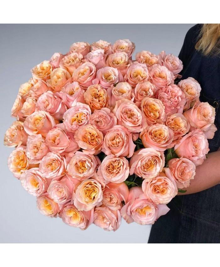 Букет из роз сорта Шиммер  № 206