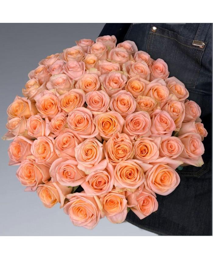 Букет из роз сорта Тиффани