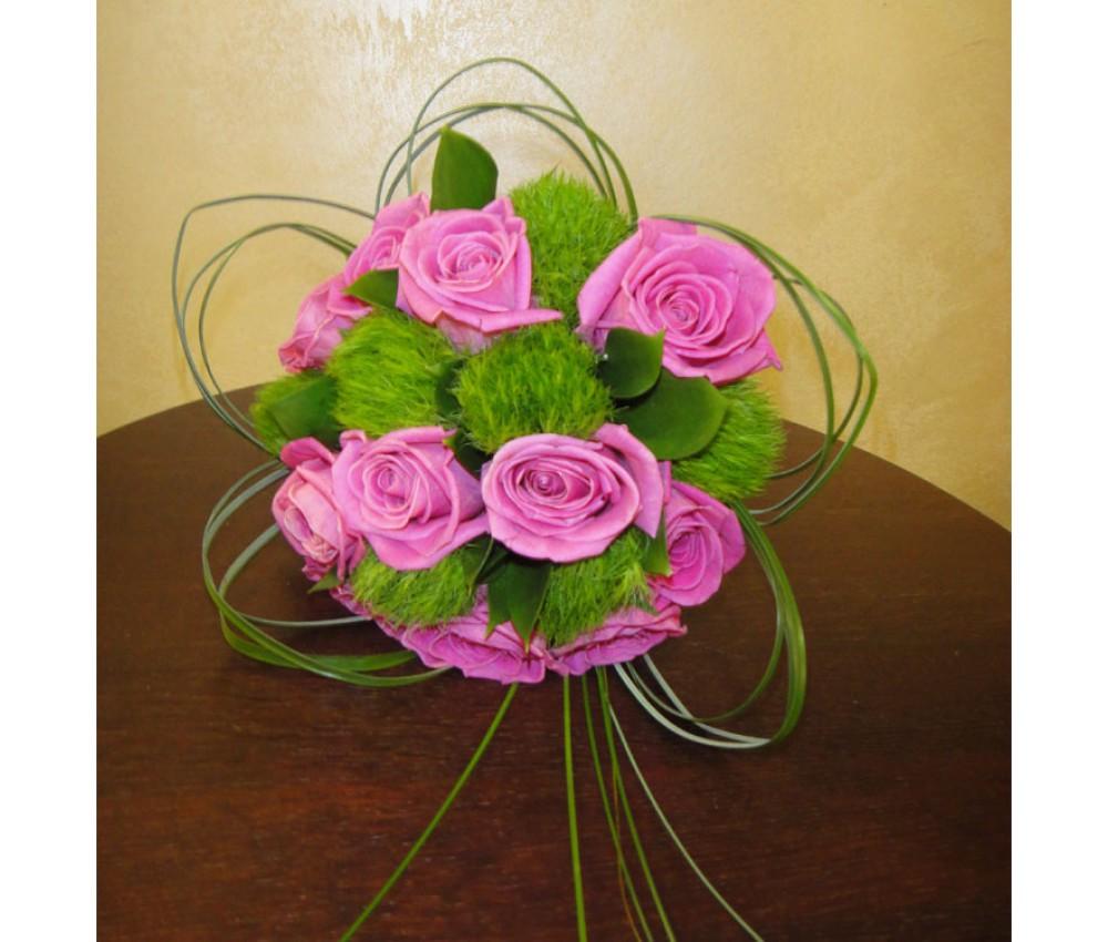 Букет невесты из розы