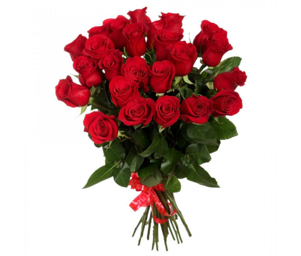 Акция- букет из 25 красных роз!