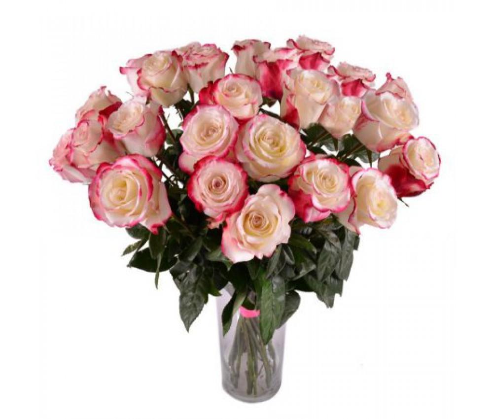Акция- букет из 25  роз Sweetness! в Екатеринбурге