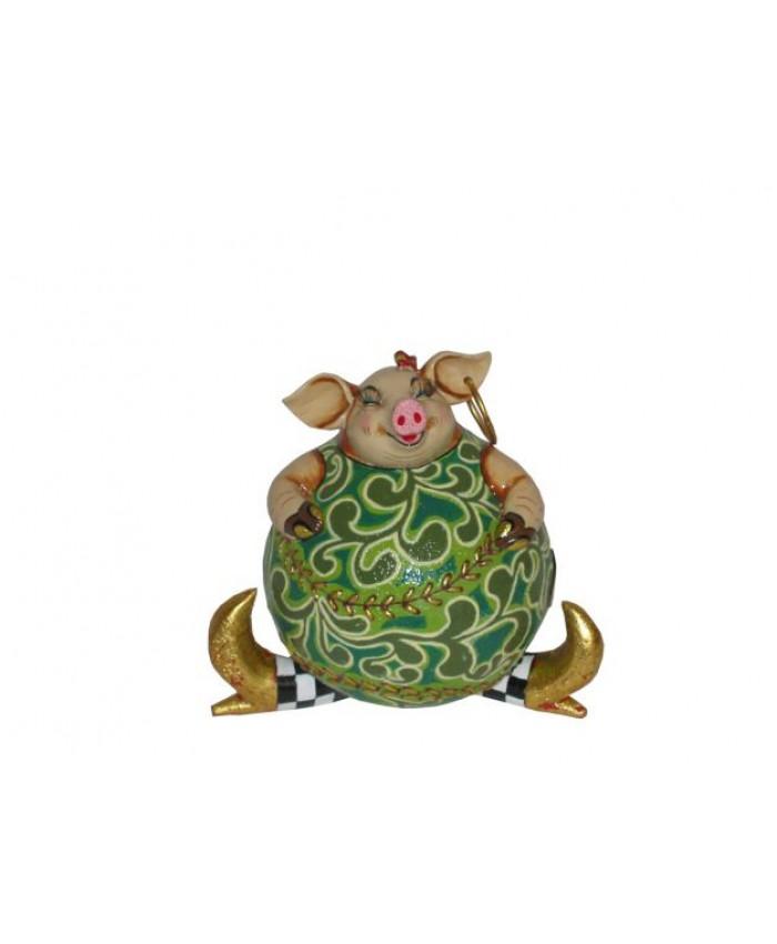 Коллекция Т. Хоффмана- Копилка свинка Стеффи, 16 см