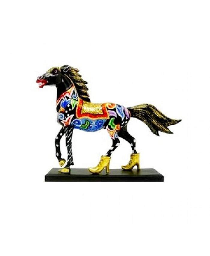 """Коллекция Т. Хоффмана-Лошадь """"Чёрный красавец"""" 19.5xH15.5 см"""