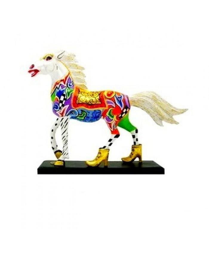 """Коллекция Т. Хоффмана-Лошадь """"Белый чемпион"""" 19.5xH15.5 см"""