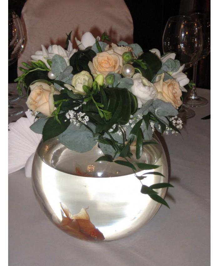 Свадьба с золотыми рыбками