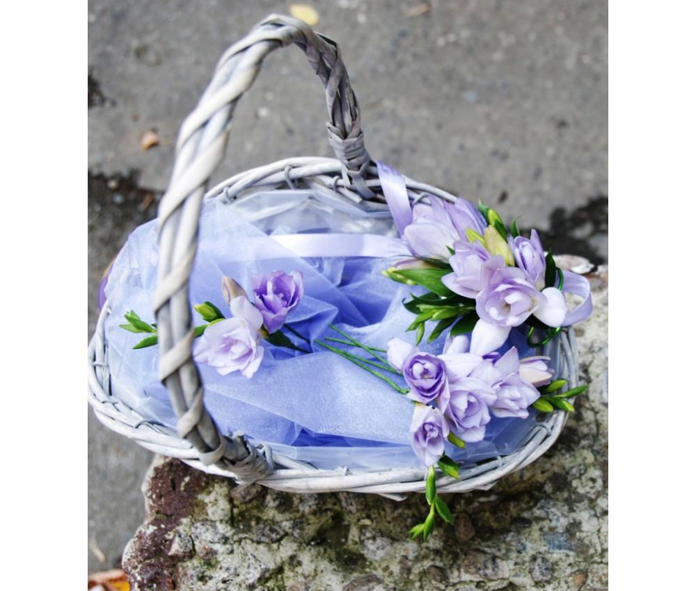 Свадебные аксессуары из цветов