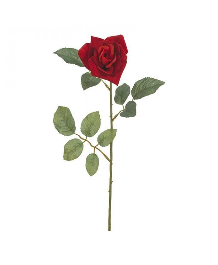 Роза красная 70 см УРАЛ