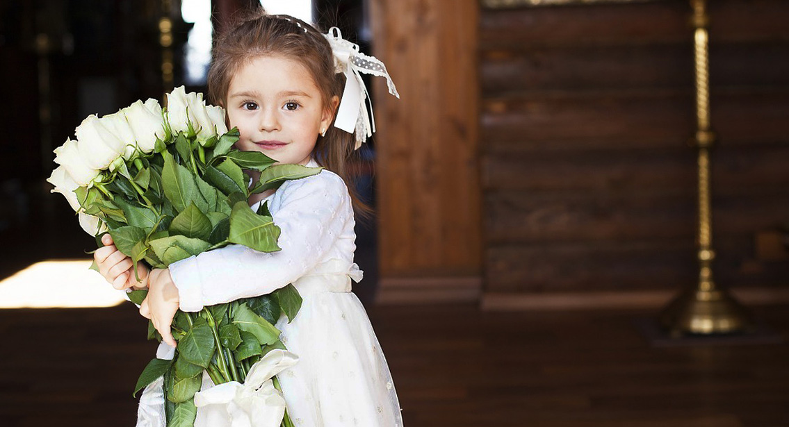 цветы для ребенка